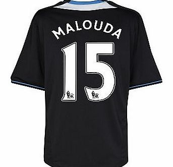 Chelsea Away Shirt Adidas 2011-12 Chelsea Away Football Shirt (Malouda 15) Buy the brand new Chelsea away shirt for the 2011/12 Premiership season complete with Florent Malouda shirt printing.The new Chelsea football shirt is manufactured by Adidas and is available in kids s http://www.comparestoreprices.co.uk/football-shirts/chelsea-away-shirt-adidas-2011-12-chelsea-away-football-shirt-malouda-15-.asp