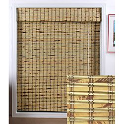 bamboo shades | Sunroom