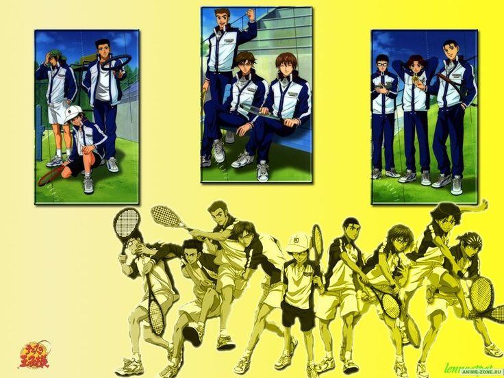 Аниме обои The Prince of Tennis: The National Tournament Semifinals / Принц тенниса OVA-2 40843
