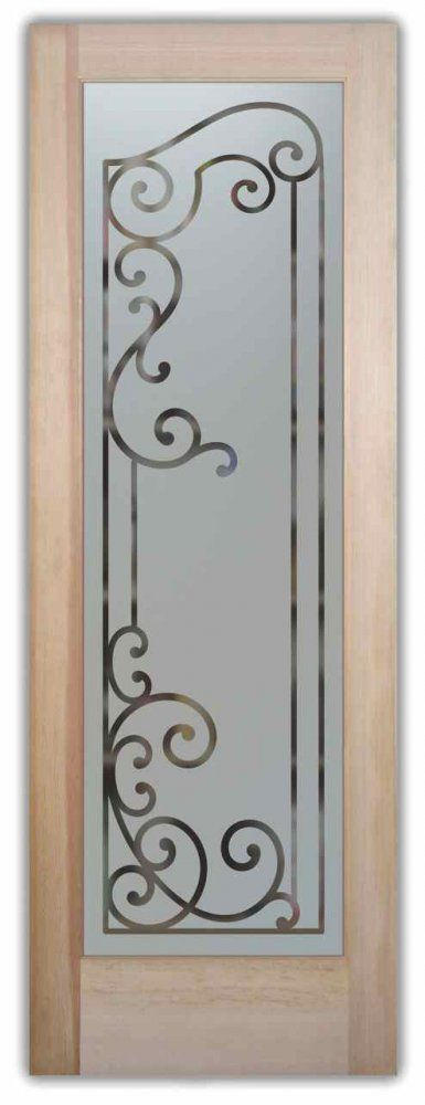 Etched Glass Pantry Doors Etched Glass Doors Pinterest Glass Pantry Door Pantry And Doors