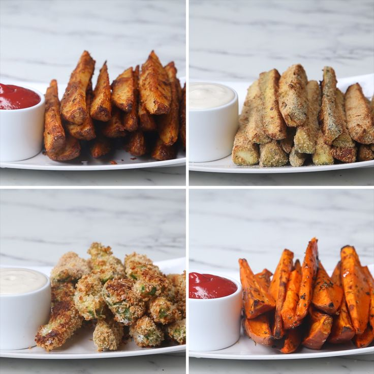 Veggie Wedges 4 Ways