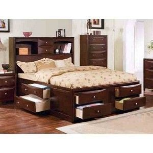Queen Captain 39 S Bed Plans Is Is A Brand New Bookcase Captain S Bed From The Manhattan