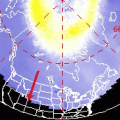 www.spaceweather.com for satellite fly-over data, SOHO images, & aurora alerts