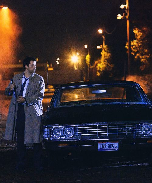Castiel and Baby  #Supernatural
