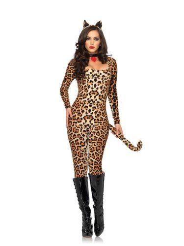 Damen Puma Leopard Kostüm ca 56€ | Kostüm-Idee zu Karneval, Halloween & Fasching
