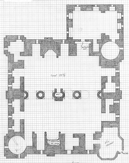 Minecraft Castle Floor Plans Blueprint  U2026
