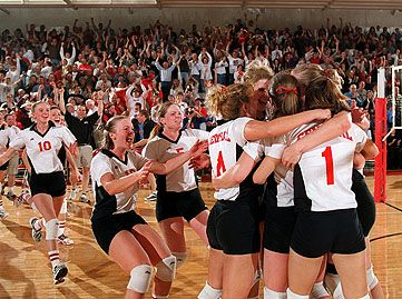 Central College 2000 NCAA Div. III volleyball championship