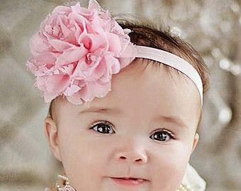 Bebé de diadema diadema de encaje, niña diadema, cinta recién, diadema de tela niño diadema vintage