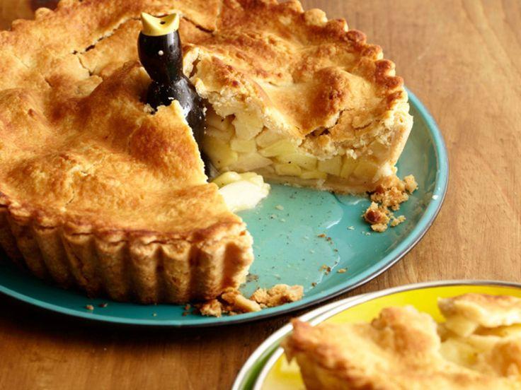 Super Apple Pie recipe from Alton Brown via Food Network