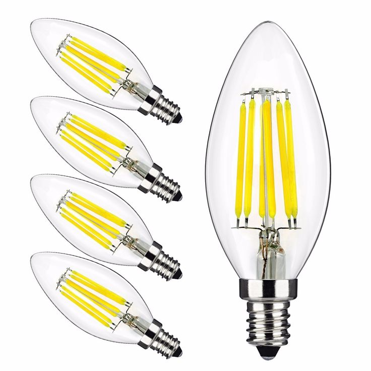 OSIDEN LED lamp Filament Bulb lampada LED 220V 110v bombillas LED Edison COB Bulb E14 C35 Candle Light 2W 4W 6W 8W 360 Degree