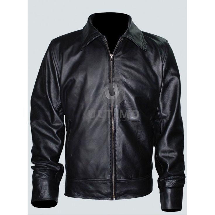 American Gangster Richie Roberts (Russell Crowe) Leather Jacket  #RichieRoberts #mensjacket #moviejackets #celebrityjackets #leatherjackets #slimfitleatherjackets