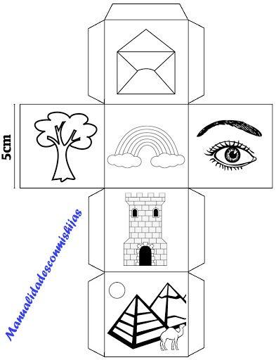 Story cubes caseros - cubo 1
