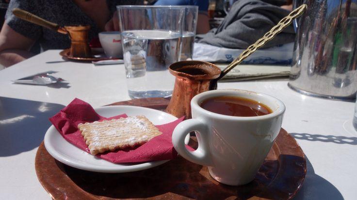 Ein griechischer Kaffee in Athen / a Greek coffee in Athens / ένας Ελληνικός σκέτος στην Αθήνα
