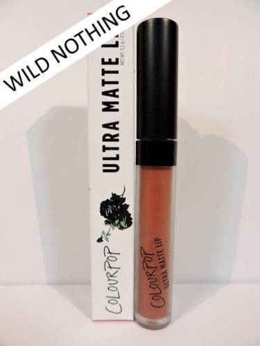 COLOURPOP WILD NOTHING Ultra Matte Lip Lipstick Shade Plum Brown 3.2g Full New