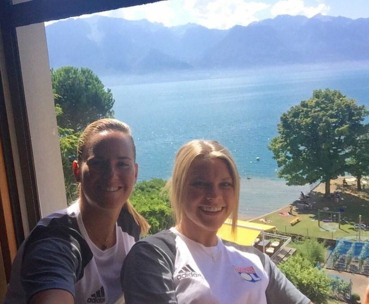 Meline Gerard and Ada Hegerberg in Switzerland Meline Gerard on Instagram 1 septemberg 2016