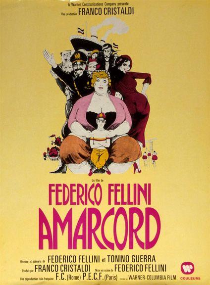 Amarcord (1973) - Magali Noël, Bruno Zanin, Pupella Maggio