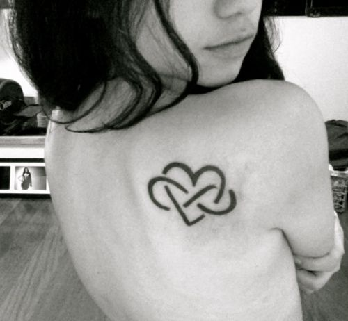 infinity tattoo, I can't decide whether I want this on my hip, neck, lower back or foot!