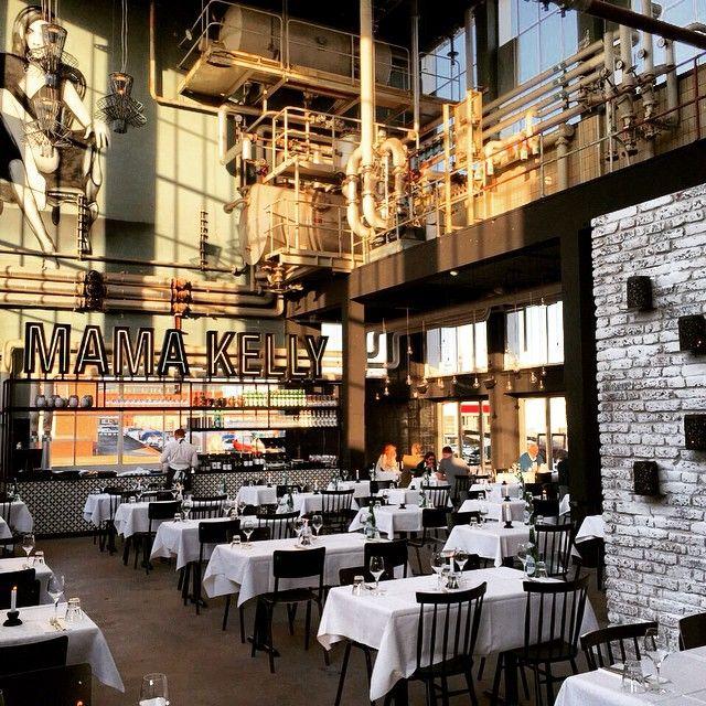 Mama Kelly restaurant The Hague /  Den Haag #retailinteriors #restaurant
