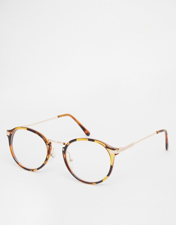 Jeepers Peepers Tort Round Glasses - Tort
