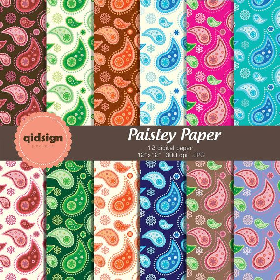 Hey, I found this really awesome Etsy listing at https://www.etsy.com/listing/157240018/paisley-digital-paper-pack-personal-and