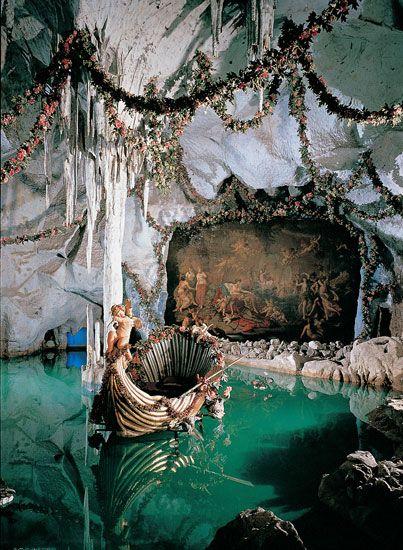 The Venus Grotto, Linderhof Palace © Bayerische Schlösserverwaltung.