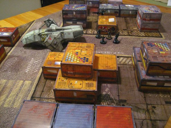 Simple Sceneries for RPG and Wargames Free Paper Models Download
