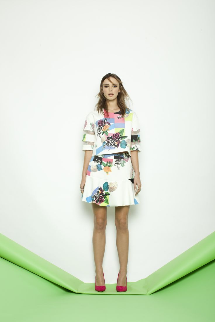 Create a masterpiece with bold prints, striking hues & Warhol-inspired details > http://bit.ly/1yl4yPV