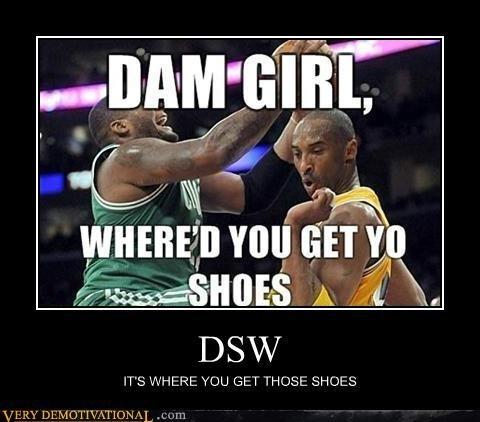 Damn Girl! Whered you get yo shoes?! #Kobe #NBA #basketball noteworthy-nba-basketball-photos