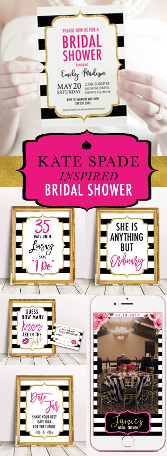 169 Best Kate Spade Party Images On Pinterest Bridal Showers