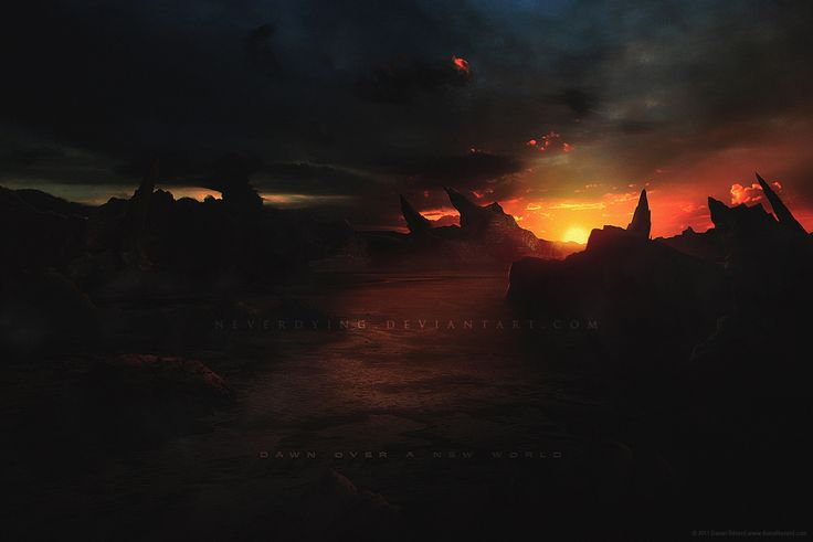 Dawn Over A New World by neverdying
