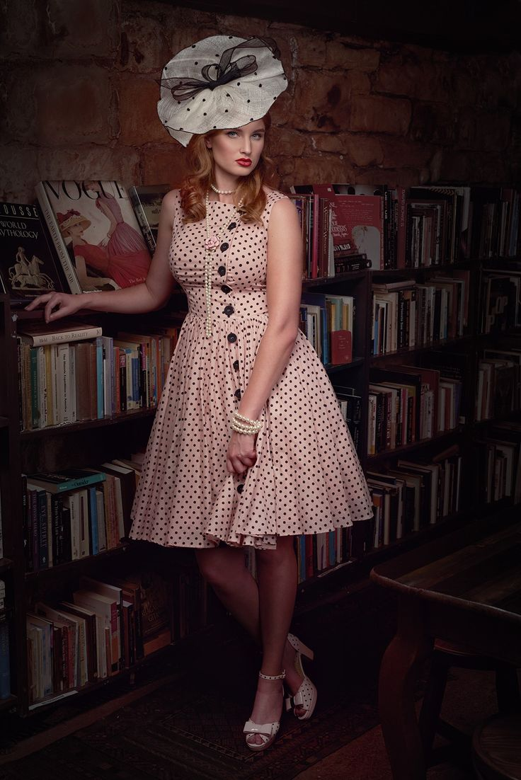 Girl Friday Spot Dress
