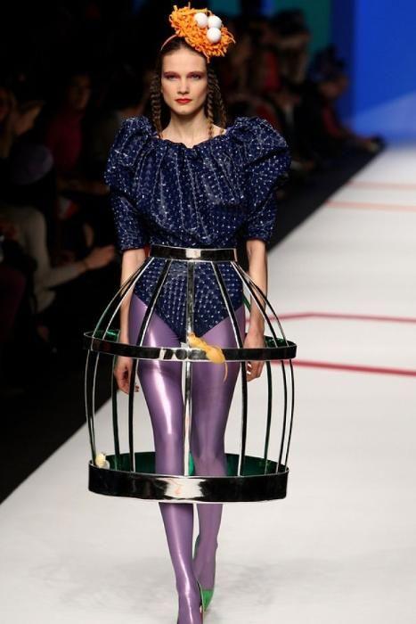 Сумасшедшая подиумная мода. Обсуждение на LiveInternet - Российский Сервис Онлайн-Дневников