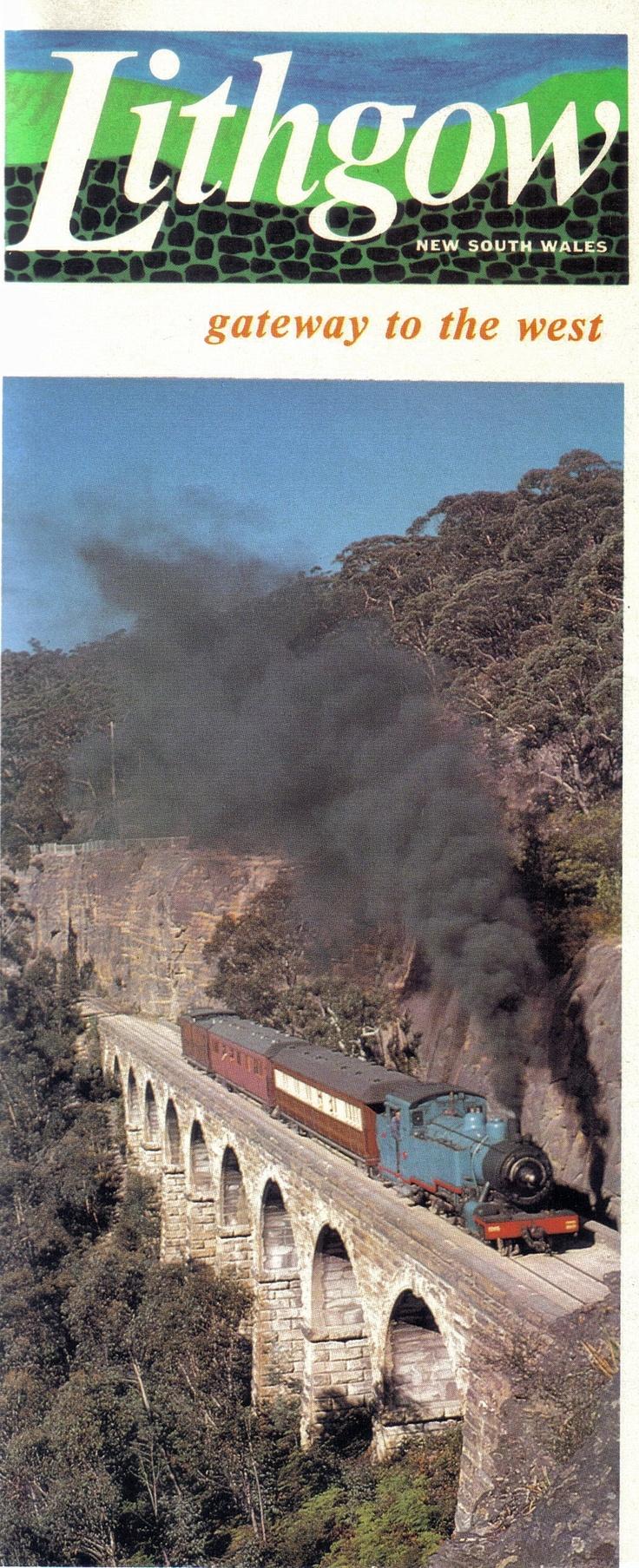 Lithgow railway (1977) @ New South Wales, Australia