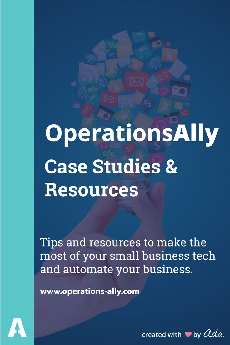 Tips and resources to  make the most of your small business tech and automate your business