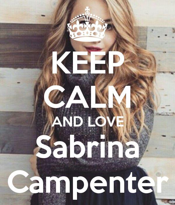 Keep Calm: Sabrina Carpenter (04)