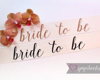 Custom Sash, Bridal Sash, Bride To Be Sash, Future Mrs. Sash, Bachelorette Sash, Mommy To Be Sash, Bridal Party Sash, Ivory Sash