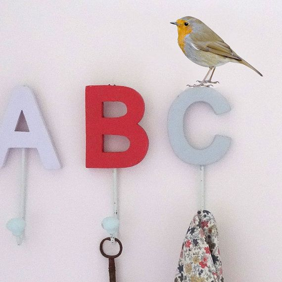 Robin Wall Decal by #JuneFoxStudio on Etsy