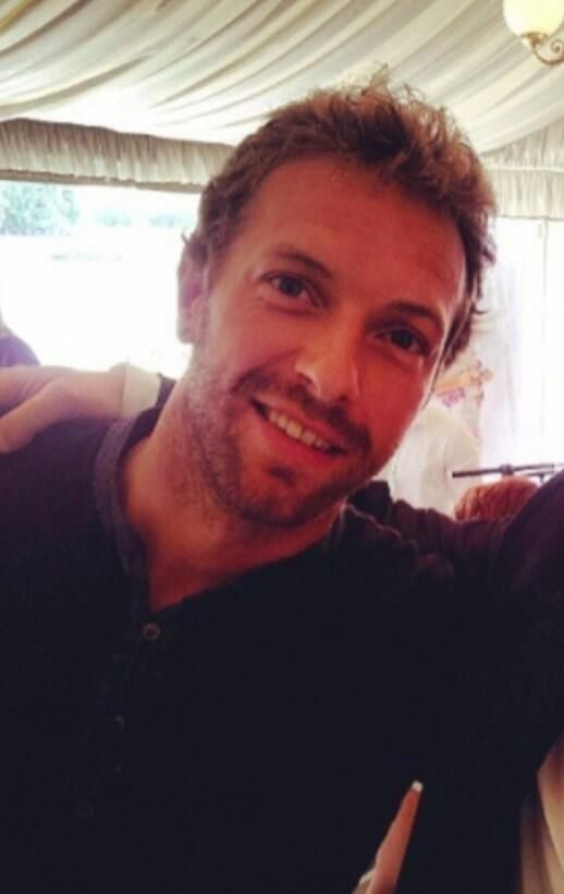 Look at those eyes! That smile! Yes Chris you are the man!