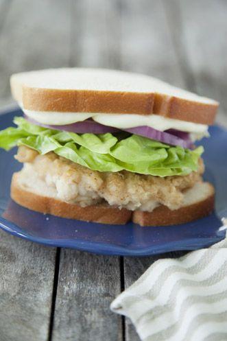 Paula Deen Crab Cake Sandwich