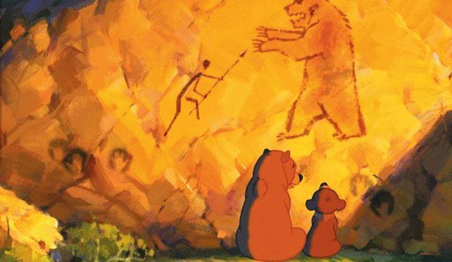 This has to be one of most underated Disney movies, it's fantastic! --- Brother Bear by Koda Fratello orso