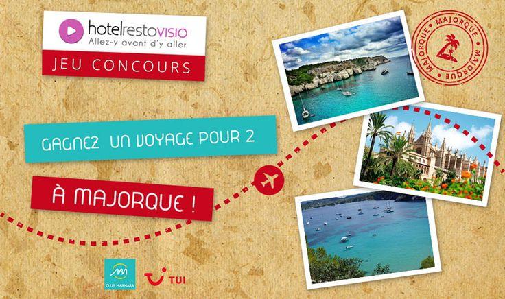 Partez vous réchauffer sous le soleil des îles Baléares ! ☀️ 🌴  Participez au jeu-concours pour gagner UN VOYAGE POUR 2 à Majorque au Club Marmara - World of TUI d'une valeur de 800 euros ! Répondez au quizz juste ici : 👇 Bonne chance à tous !