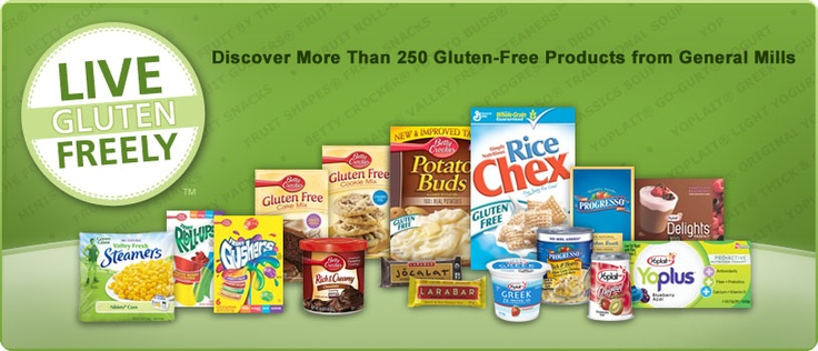 Gluten free products from general mills