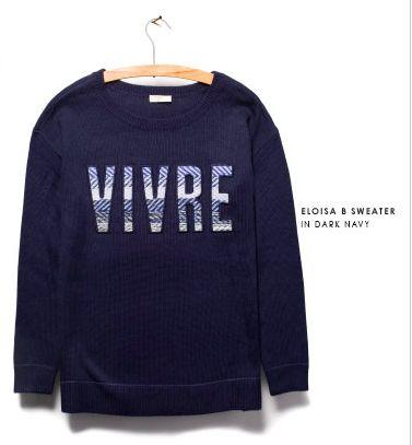 joie vivre sweater
