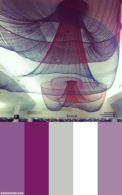 T2 Ceiling, Sfo Color Scheme