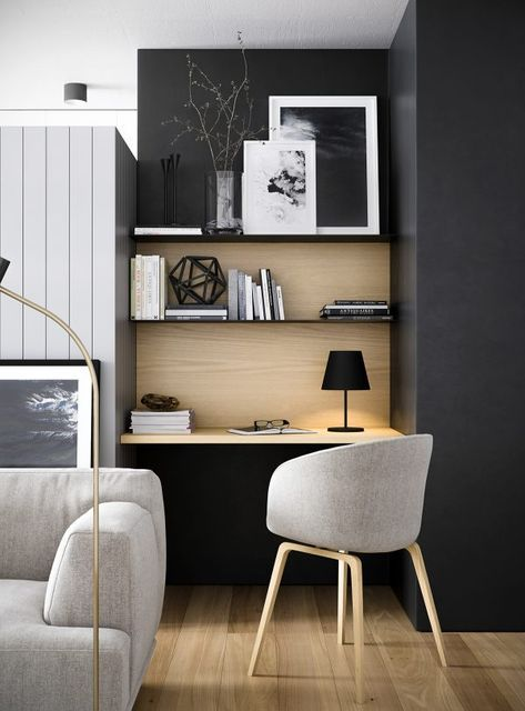 Design Your Own Home Office Small 10 Creative Minimalist Home Offices  Little Piece Of Me Pinterest