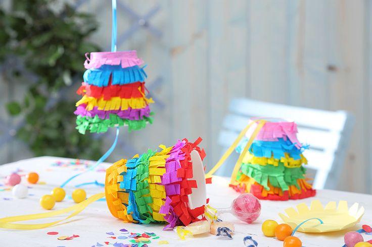 Die Piñata passt perfekt zu jedem Kindergeburtstag – ob mit oder ohne Motto. • Umsetzung und Foto: Thordis Rüggeberg