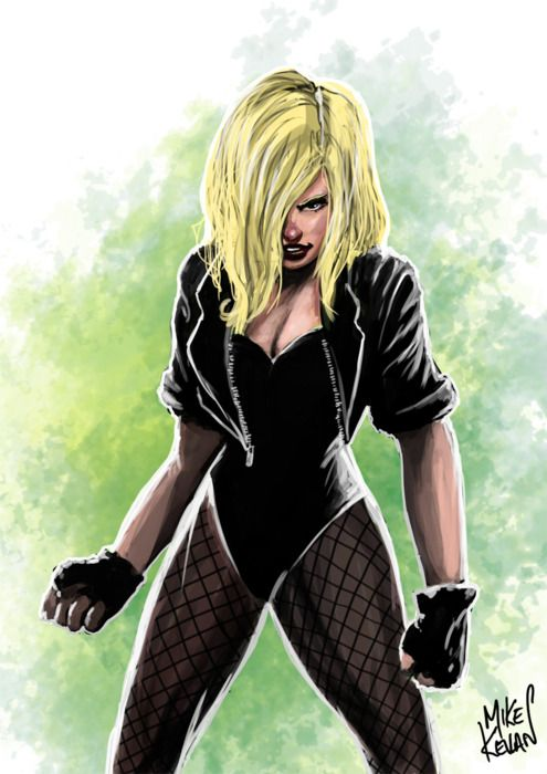 "Canary's Fury. Uh-oh, did someone call her ""love chunks"" again? Don't let Frank Miller write again. Please."