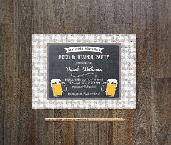 The 25 best Diaper party invitations ideas on Pinterest Diaper