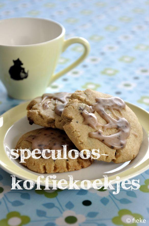 Speculoos-koffiekoekjes - Fiekefatjerietjes
