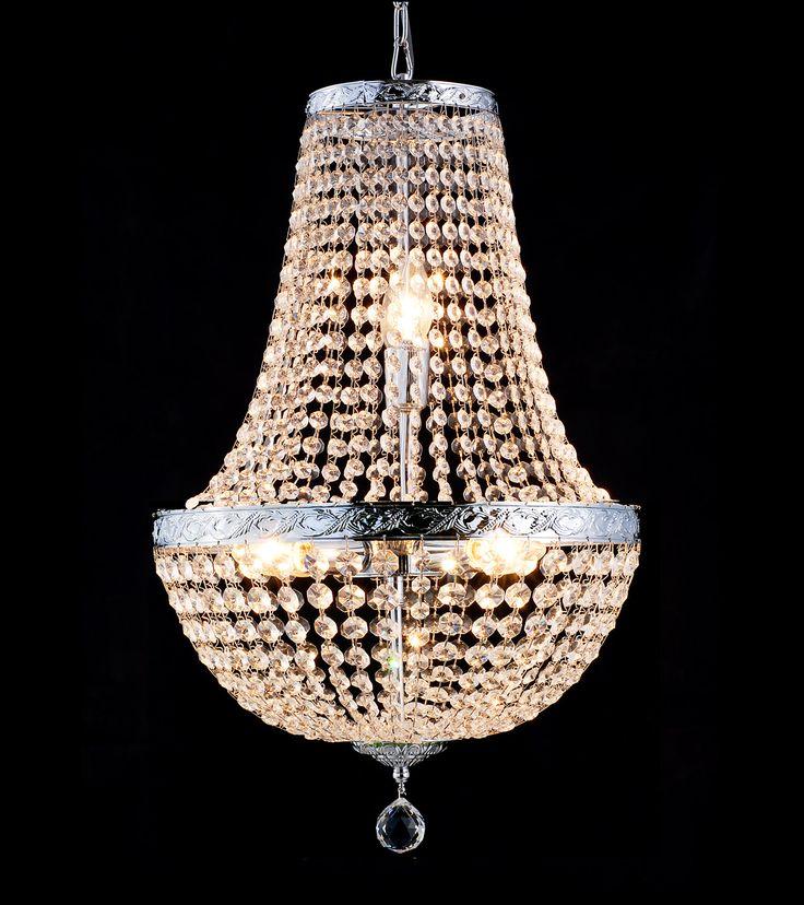 Victoria chandelier  Krystallkrone Lyskrone Lampemagasinet